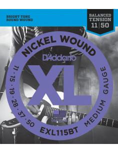 D'Addario,EXL115BT,Balanced Medium,11-50