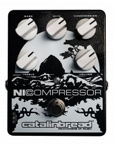 Catalinbread,Nicompressor silver on black