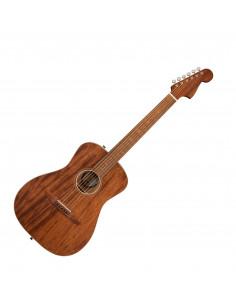 Fender,Malibu Special with Bag, All Mahogany, Pau Ferro Fingerboard, Natural