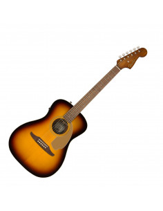Fender,Malibu Player, Walnut Fingerboard, Sunburst