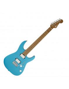 Charvel,Pro-Mod DK24 HH 2PT CM, Caramelized Maple Fingerboard, Matte Blue Frost