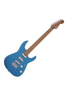 Charvel,Pro-Mod DK22 SSS 2PT CM, Caramelized Maple Fingerboard, Electric Blue