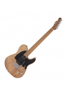 Charvel,Pro-Mod So-Cal Style 2 24 HH 2PT CM Ash, Caramelized Maple Fingerboard, Natural Ash