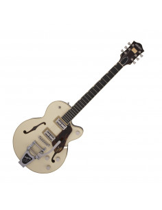 Gretsch - G6659T, Players Edition Broadkaster® Jr., Two-Tone Lotus Ivory/Walnut Stain