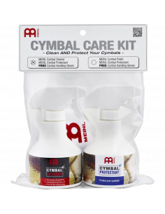 Meinl - MCCK-MCCL - Cymbal Care Kit With Mccl/Mcpr