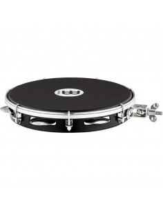 """Meinl,Traditional ABS Pandeiro With Holder Black 10"""""""