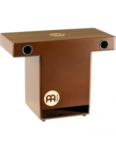 "Meinl,TOPCAJ2WN,Turbo Slaptop Series Cajon,Walnut,14 1/2"" x 10"" x 5 3/4"""