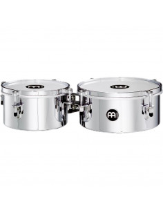 """Meinl,Mini Timbales (Patented) Chrome 8"""" & 10"""""""