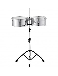 "Meinl,HT1314CH,Headliner® Series Timbale,Chrome,13""x14"""