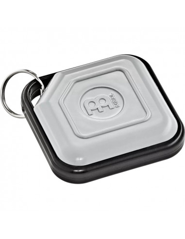 Meinl,KRS-GR,Key Ring Shaker & Tambourine,Shaker,Grey