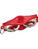 Meinl,KRT-R,Key Ring Shaker & Tambourine,Tambourine,Red