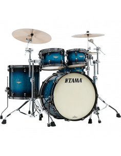 Tama - MA30CMUS-MEB,Smoked Black Nickel Hardware,Molten Electric Blue Burst