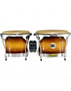 "Meinl,FWB400GAB,Professional Series Wood Bongo,Gold Amber Sunburst,7"" x 8 1/2"""