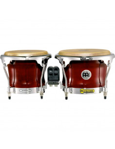 "Meinl,FWB400CR,Professional Series Wood Bongo,Cherry Red,7"" x 8 1/2"""