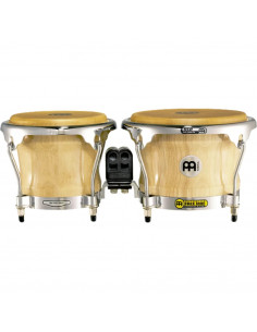 "Meinl,FWB400NT,Professional Series Wood Bongo,Natural,7"" x 8 1/2"""