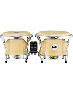"Meinl,BWB400,Woodcraft Series Wood Bongo,Natural,7"" x 8 1/2"""