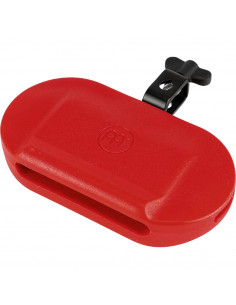Meinl,MPE4R,Percussion Block, Low Pitch,Plastic,Large,Red
