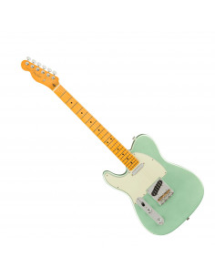 Fender,American Pro II Tele® Left-Hand, Mystic Surf Green