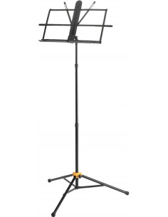 Hercules - BS118BB,3-section music stand w/bag, w/ez grip