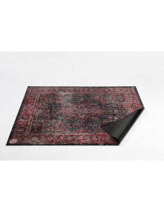 DRUMnBASE,Vintage Persian Stage Mat,Red Black