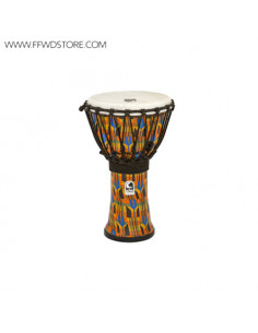 Toca - Freestyle Rope Tuned Djembes Kente Cloth
