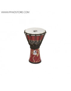 Toca - Freestyle Rope Tuned Djembes Bali Red