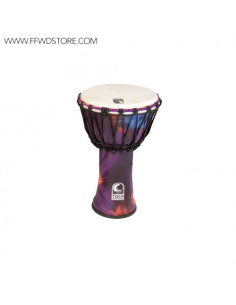 Toca - Freestyle Rope Tuned Djembes Woodstock Purple