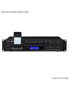 Tascam - CD-200IL CD-Player with iPodDock + extra Front - AuxIn
